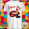 Nice Cancer Slay Lips Shirt