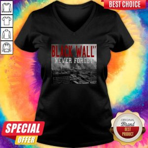 Official Black Wall St Never Forget City V-neck