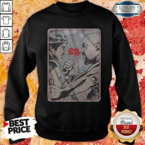 Premium Lincoln Hawk vs Bull Hurley Over The Top Sweatshirt