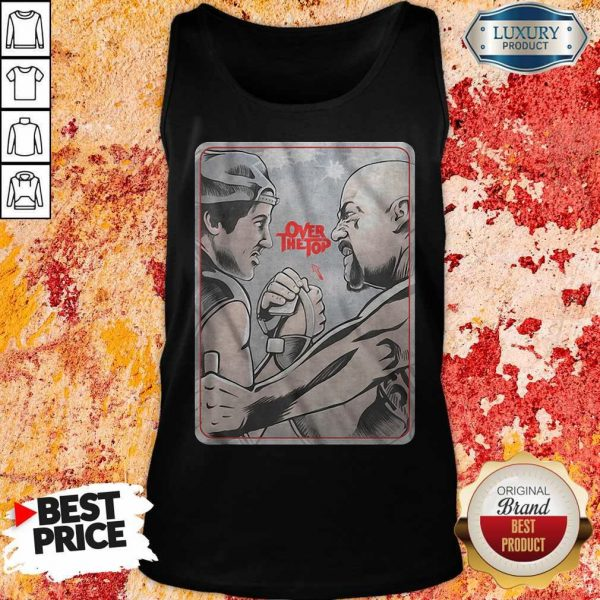 Premium Lincoln Hawk vs Bull Hurley Over The Top Tank Top
