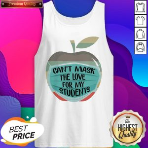Apple Can't Mask The Love For My Students Vintage Tank Top