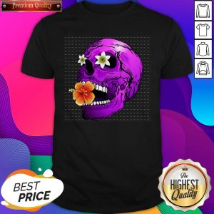 Day of the Dead Floral Sugar Skull T-Shirt