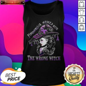 Fibromyalgia Mess With The Wrong Witch Tank Top