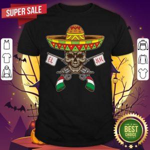 Mexican Day Of The Dead Dia De Los Muertos Sugar Skull Shirt