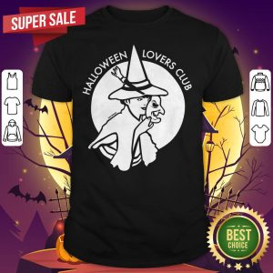 Official Halloween Lovers Club Witch Shirt