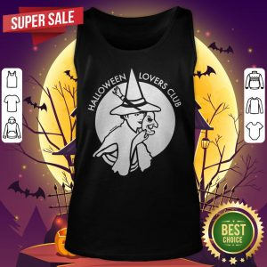 Official Halloween Lovers Club Witch Tank Top