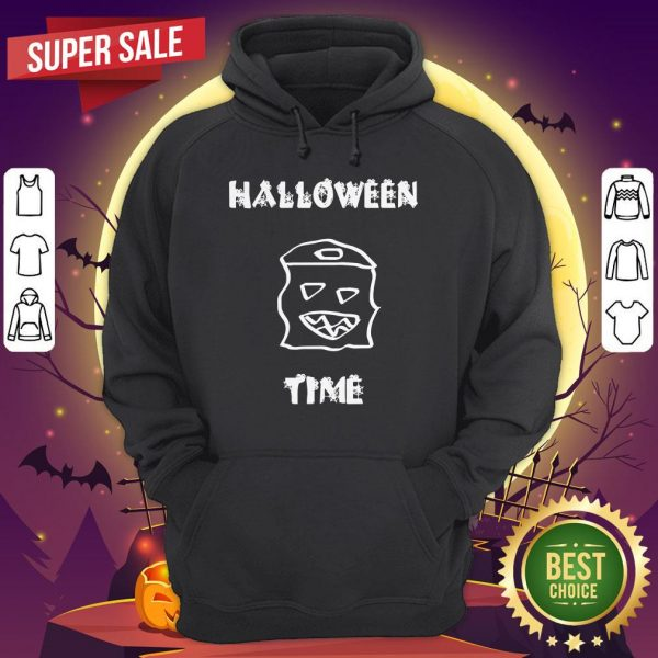 Official Halloween Time Boo Hoodie