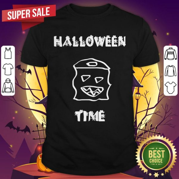 Official Halloween Time Boo Shirt