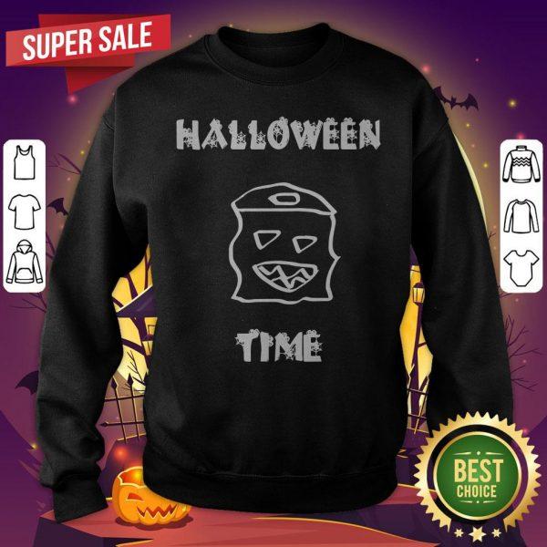 Official Halloween Time Boo SweatShirt