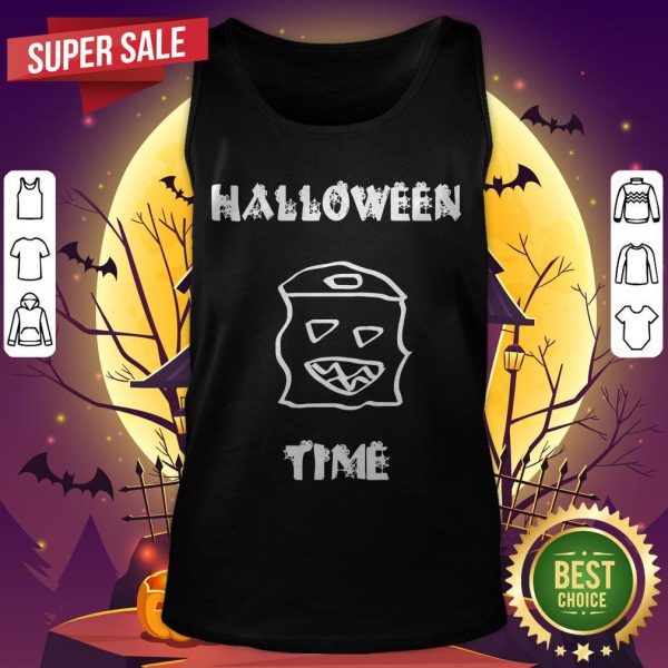 Official Halloween Time Boo Tank Top