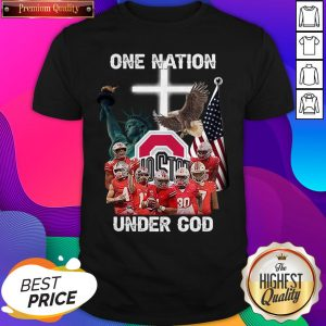 Ohio State Buckeyes One Nation Under God Shirt