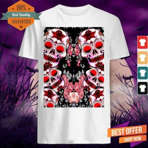 Sugar Skulls Dia De Los Murtos Day Of Dead Shirt
