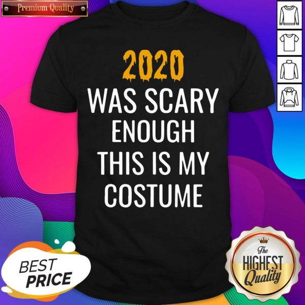 2020 Was Scary Enough This Is My Costume Shirt- Design By Sheenytee.com