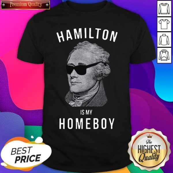 Hamilton Is My Home Boy Shirt- Design By Sheenytee.com