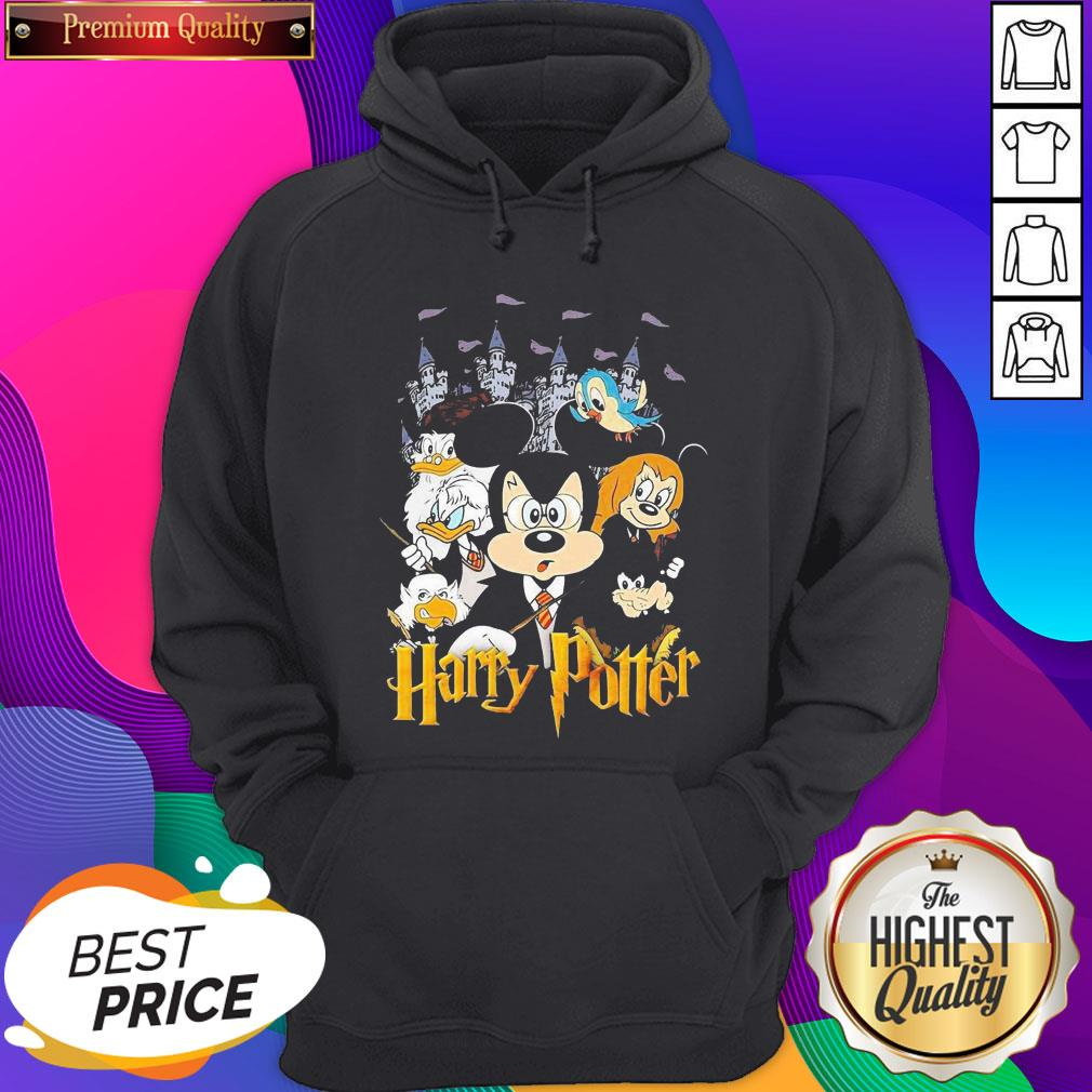 Mickey Mouse And Friends Harry Potter Halloween Hoodie