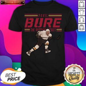 Nice Pavel Bure The Russian Rocket Play Shirt- Design By Sheenytee.com