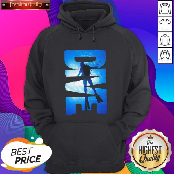 Official Dive Hoodie- Design By Sheenytee.com