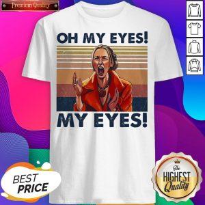 Oh My Eyes My Eyes Phoebe Vintage Hoodie- Design by Sheenytee.com