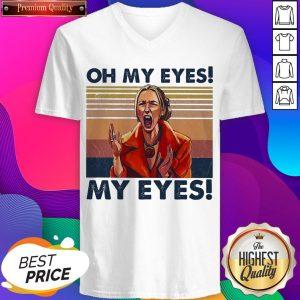 Oh My Eyes My Eyes Phoebe Vintage V-neck