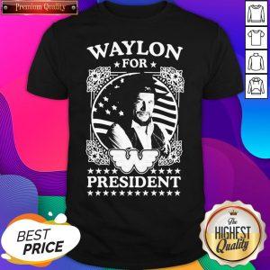 Awesome Waylon For President Us Flag Shirt