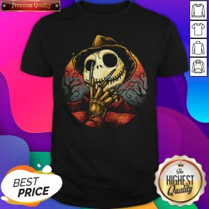 Jack Skellington Freddy Nightmare Halloween Shirt