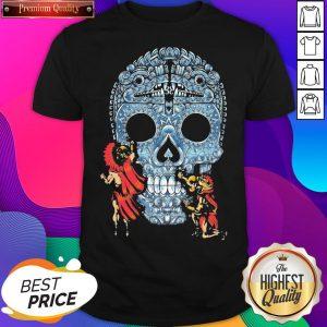 Premium Native Sugar Skull Mexico Shirt