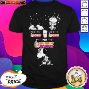 I Am A Simple Woman Heart Dunkin Donuts Shirt
