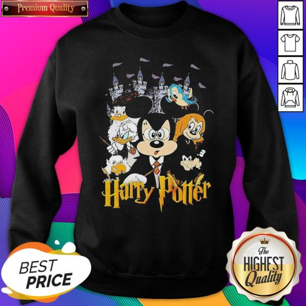 Mickey Mouse And Friends Harry Potter Halloween SweatShirt