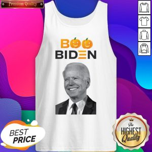 Pro Joe Biden American Elections Halloween Boo Pumpkin Tank Top