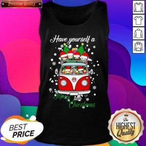Chibi Have Yourself A Merry Little Christmas Tank Top