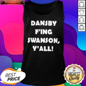 Premium Dansby F'ing Swanson Y'all Tank Top