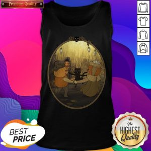 Dancing Time At The Huskin' Bee Halloween Day Tank Top