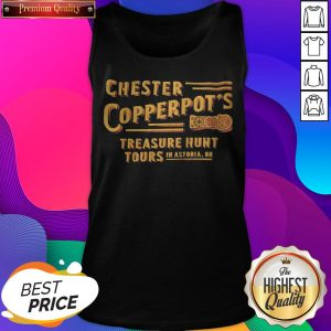 Chester Copperpot's Treasure Hunt Tours In Astoria Or Tank Top