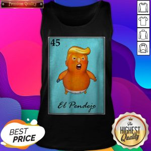 Trump El Pendejo Loteria Card Impeach Trump Resist Halloween Day Tank Top