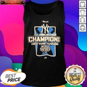 New York Yankees MLB 2009 Champions NYC Tank Top