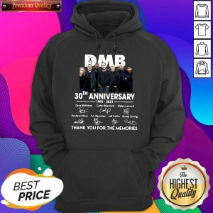 Hot DMB 30th Anniversary Thank You For The Memories Signatures Hoodie- Design By Sheenytee.com