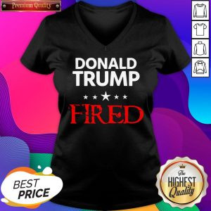 Hot Donald Trump Fired Stars Election V-neck- Design By Sheenytee.com