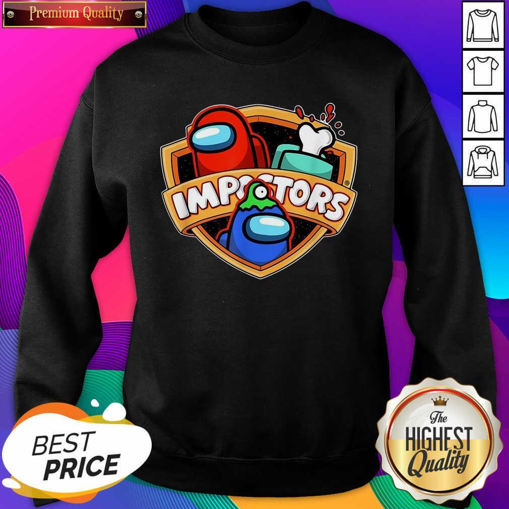 Imposter Impostor Among Game Us Sus Gift Sweatshirt- Design By Sheenytee.com