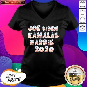 Joe Biden Kamala Harris 2020 Election Democrat Liberal V-neck- Design By Sheenytee.com