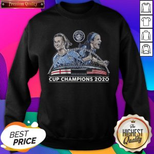 Official Lavelle & Mewis Man City 2020 Cup Champions Legend Unisex Sweatshirt- Design By Sheenytee.com