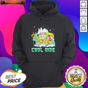 Snowmans School Bus Cool ride Christmas Hoodie- Design By Sheenytee.com