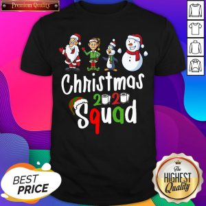 Squad Quarantine Christmas 2020 Family Matching Shirt- Design By Sheenytee.com