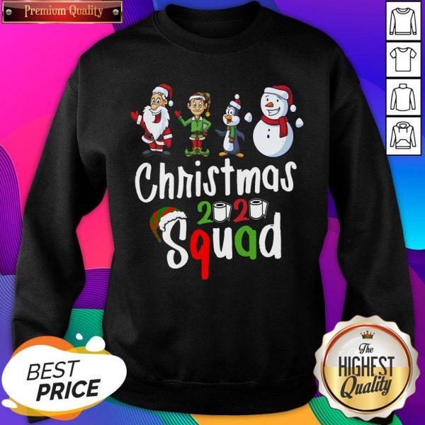 Squad Quarantine Christmas 2020 Family Matching Sweatshirt- Design By Sheenytee.com