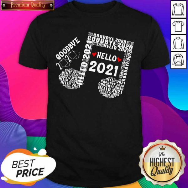 Bye 2020 Hello 2021 New Years Heart Music Note Shirt- Design By Sheenytee.com