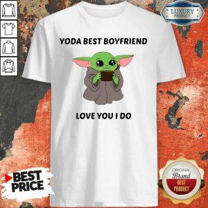 Baby Yoda Best Boyfriend Love You I Do Shirt- Design By Sheenytee.com