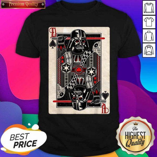 Star Wars Darth Vader King Of Spades Graphic Shirt- Design By Sheenytee.com
