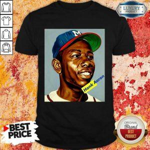 Amused Hank Aaron 9 Essential Shirt - Design by Sheenytee.com