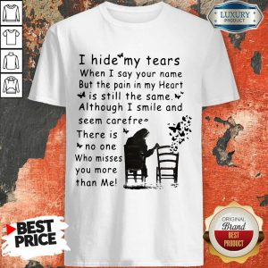 Ecstatic I Hide My Tears When I Say Your 2 Name Shirt - Design by Sheenytee.com