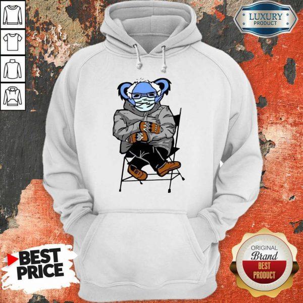 Great Sloth Mask 4 Bernie Sanders Meme Hoodie - Design by Sheenytee.com