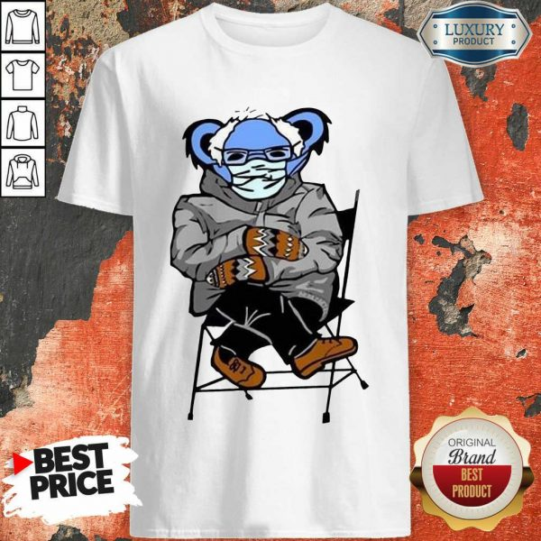 Great Sloth Mask 4 Bernie Sanders Meme Shirt - Design by Sheenytee.com